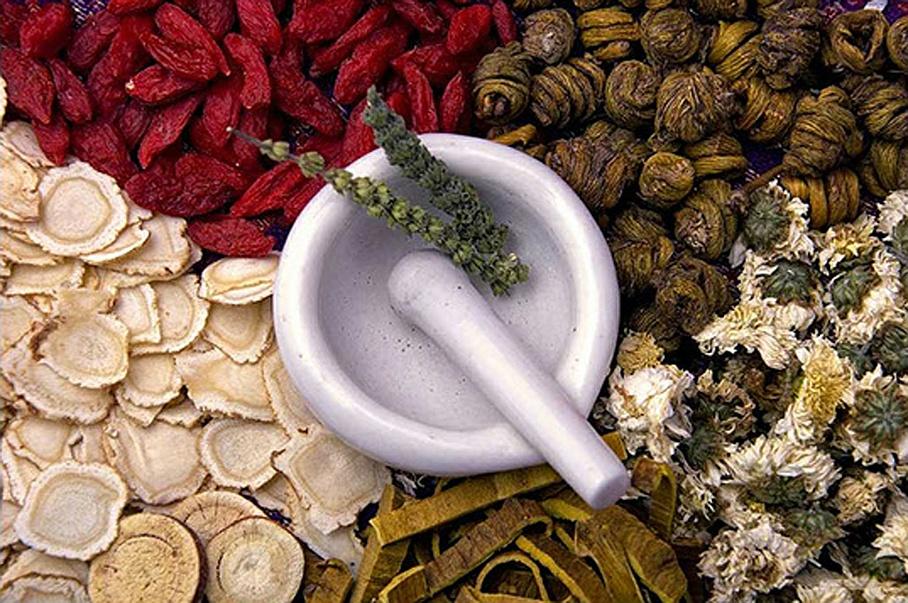 Kräuter und Beeren - Chinesische Medizin Ru GmbH